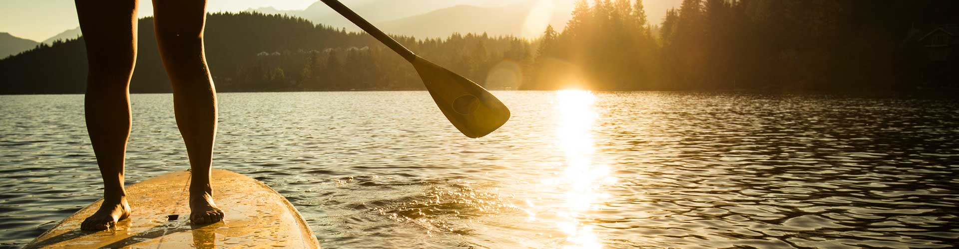 The Movement Company Invermere BC - Paddleboard with functional strength
