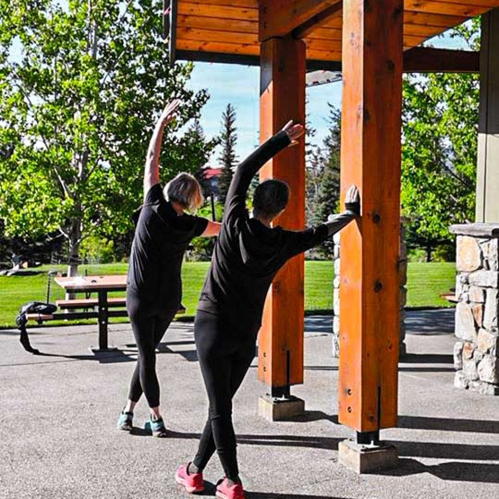 The Movement Company offers Classes Outside